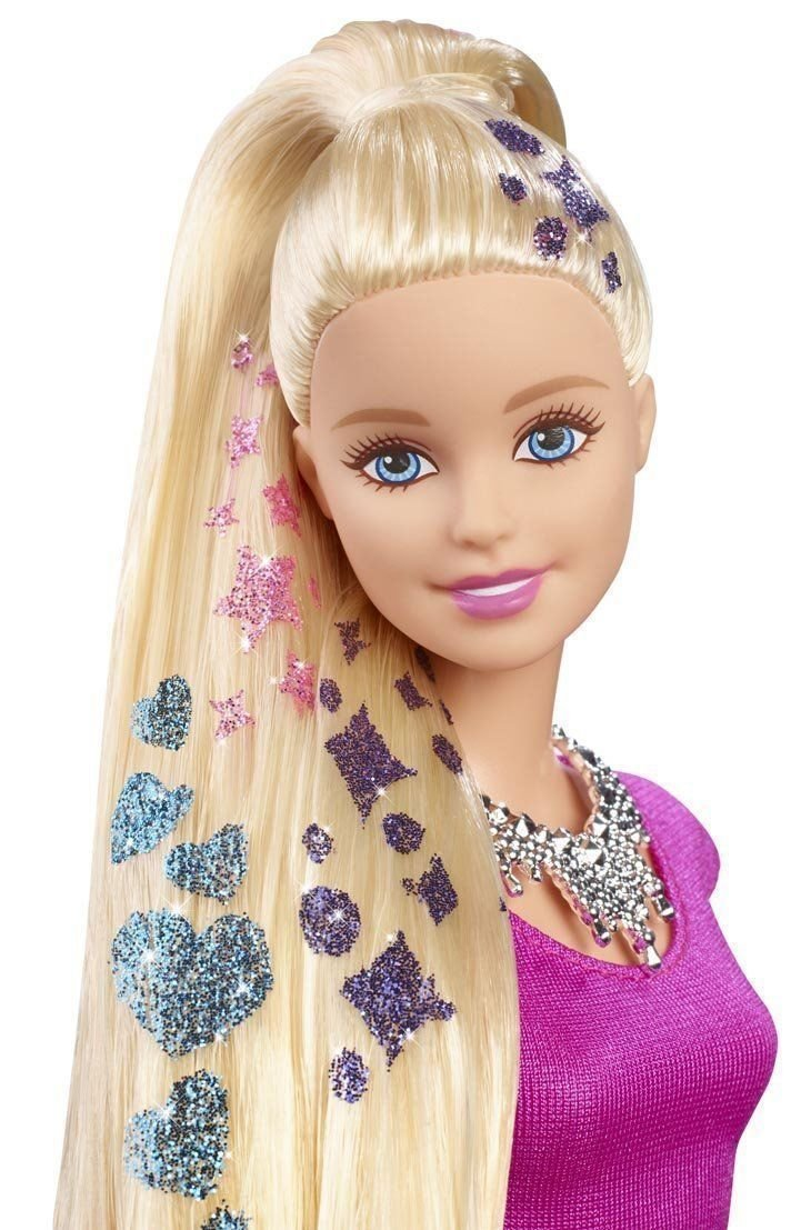 New Barbie Glitter Hair Doll Ideas With Pictures Original 1024 x 768